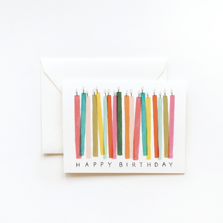 Birthday Candle Card // Rifle Paper Co.