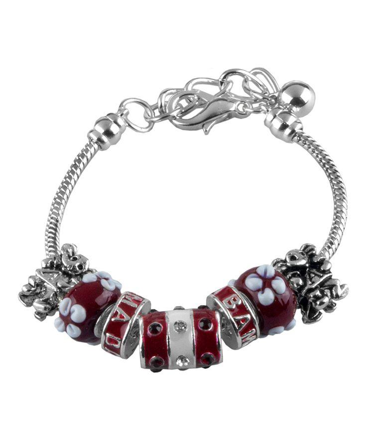 Alabama Crimson Tide Mascot Bracelet