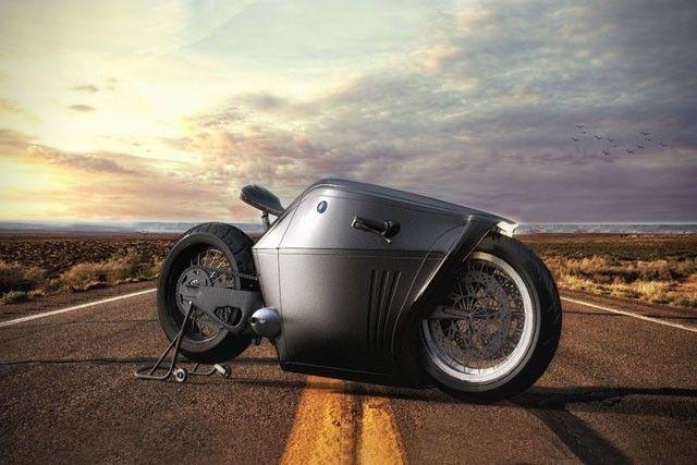 先日、BMW 「タイタン」というコンセプトモデルについて紹介しましたが、今回ご紹介するのも同じくBMWのファンアート・コンセプトモデル「ラジカル」になります。 コンセプトモデル「ラジカル」 こちらのコンセプトモデル「ラジカル」も、工業デザイナーMehmet Erdem氏がデザインしたファンアートです。人気映画『トロン・レガシー』に登場する、近未来的なバイクを連想させるイメージですが、そうではありません。 こちらの「ラジカル」は、伝統的なデザインから脱却しつつ、ロープロファイル(定重心)なライディングポジションを念頭に置き、低いハンドルバーを採用するなど、エアロダイナミクスを計算して作られたコンセプトモデルです。 鎧を連想させる特異なエクステリア 鎧を彷彿とさせる特異なエクステリアの大胆なデザインで、BMWらしさと言えば、辛うじてロゴだけというこのモデル。しかし、タイヤ周りはフロント・リアとも現行のそれに近く、実車化するのもそれほど手間がかからないような気もしてきます。…