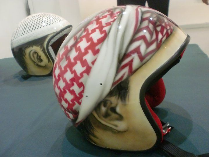 we created from the latest edition of the helmet airbrush to your collection, this product can be found at Bali