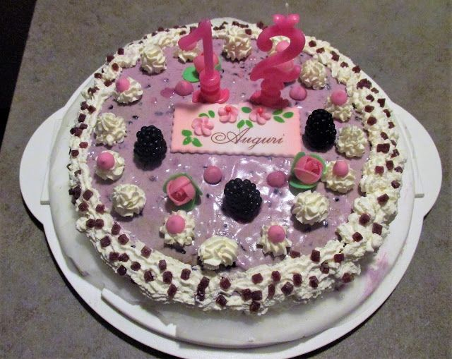 FORNELLI IN FIAMME: SARA HAPPY BIRTHDAY CAKE - Torta di compleanno di ...