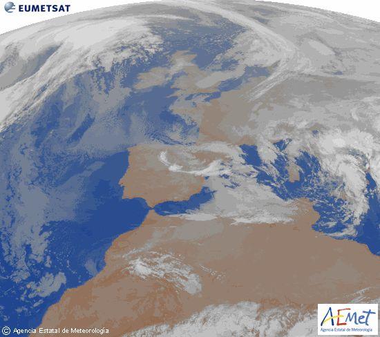 Fenómenos significativos Rachas de viento fuerte en Pirineos y valle del Ebro. Nevadas en el Cantábrico y Pirineos. Predicción Continuarán