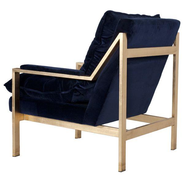 Кресло в вельветовой отделке CAMERON GNAVY производства Worlds Away купить в Москве по цене 147 512 руб. Фото и подробные характеристики Кресло в вельветовой отделке CAMERON GNAVY.