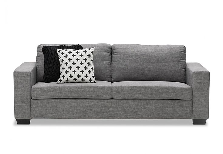 Bonza Fabric 3 Seater Sofa | Super A-Mart