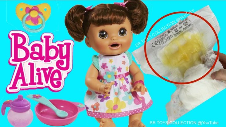 Baby Alive Doll Feeding Pooping Diaper Change - Baby Doll ...