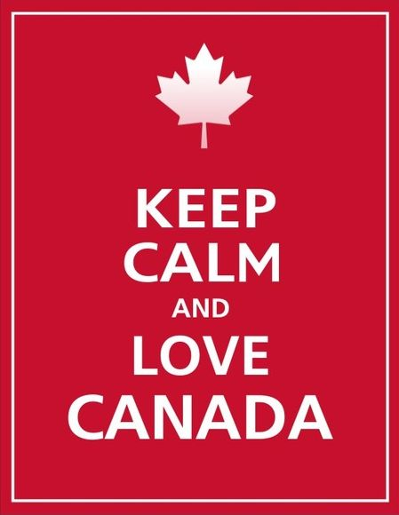Keep Calm and Love #Canada