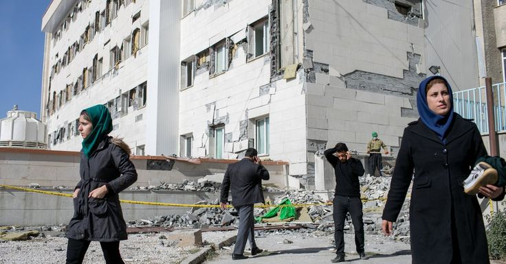 #MONSTASQUADD Iranians Are Outraged Over Shoddy Construction in Earthquake Zone