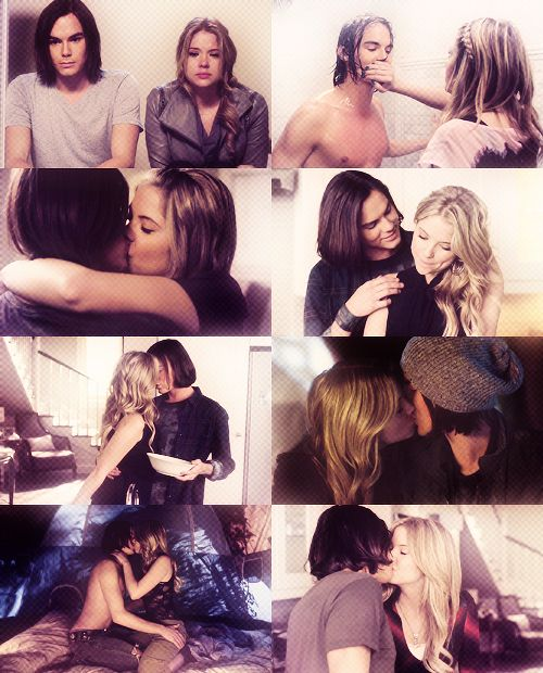 8 moments of Haleb. Which one is your favorite? | Pretty Little Liars