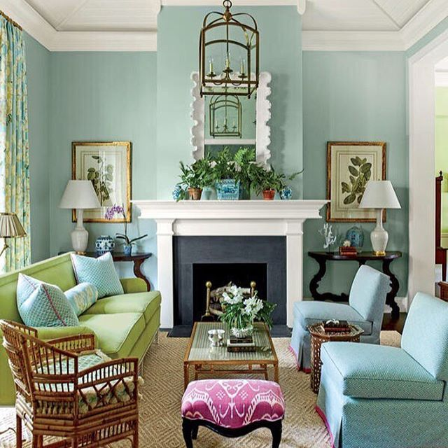This Amazing Living Room That Was On The Cover Of One My Old Style Guide Issues Always Makes Me Smile