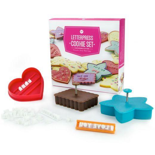 Yuppiechef Letterpress Cookie Set