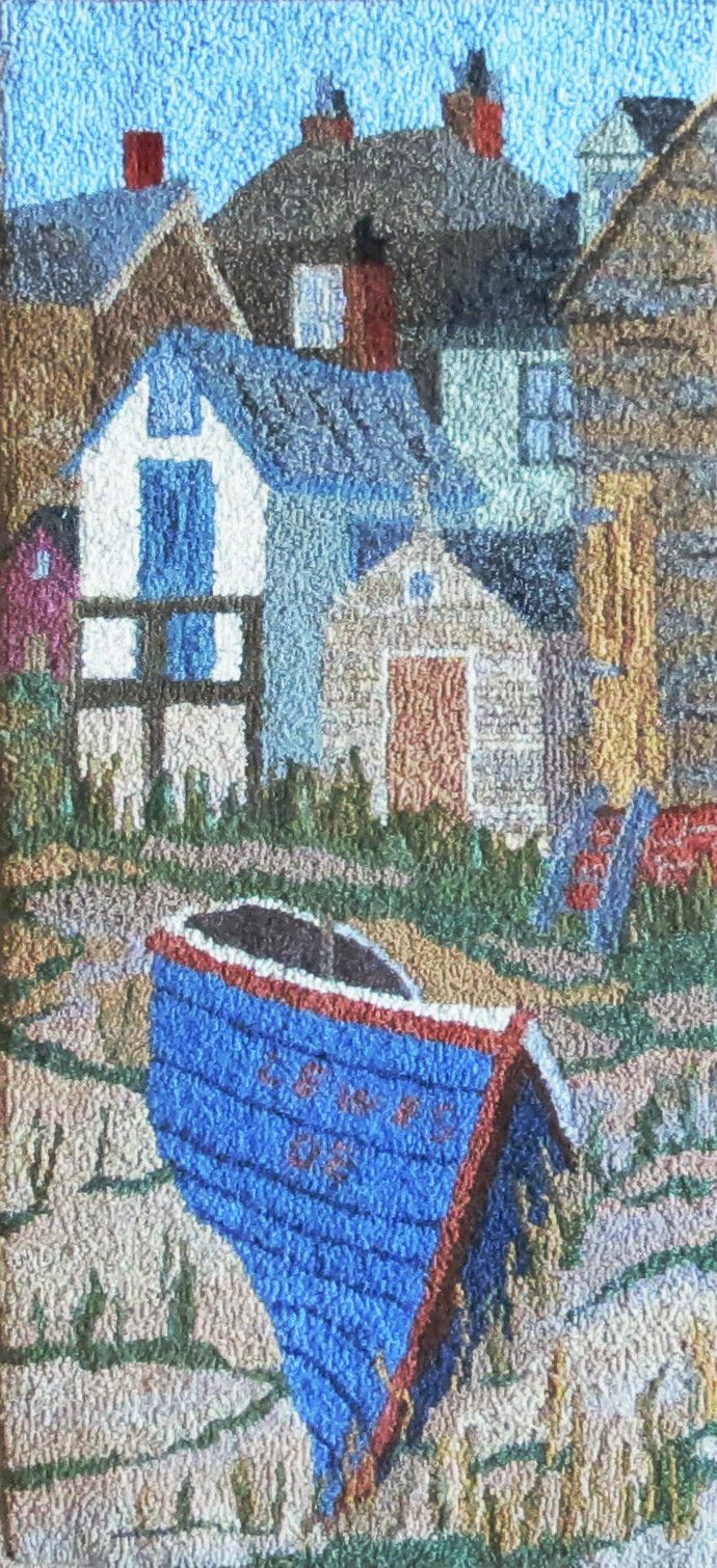 This inspires me to get out my photos of places like Peggy's Cove and use them as a pattern