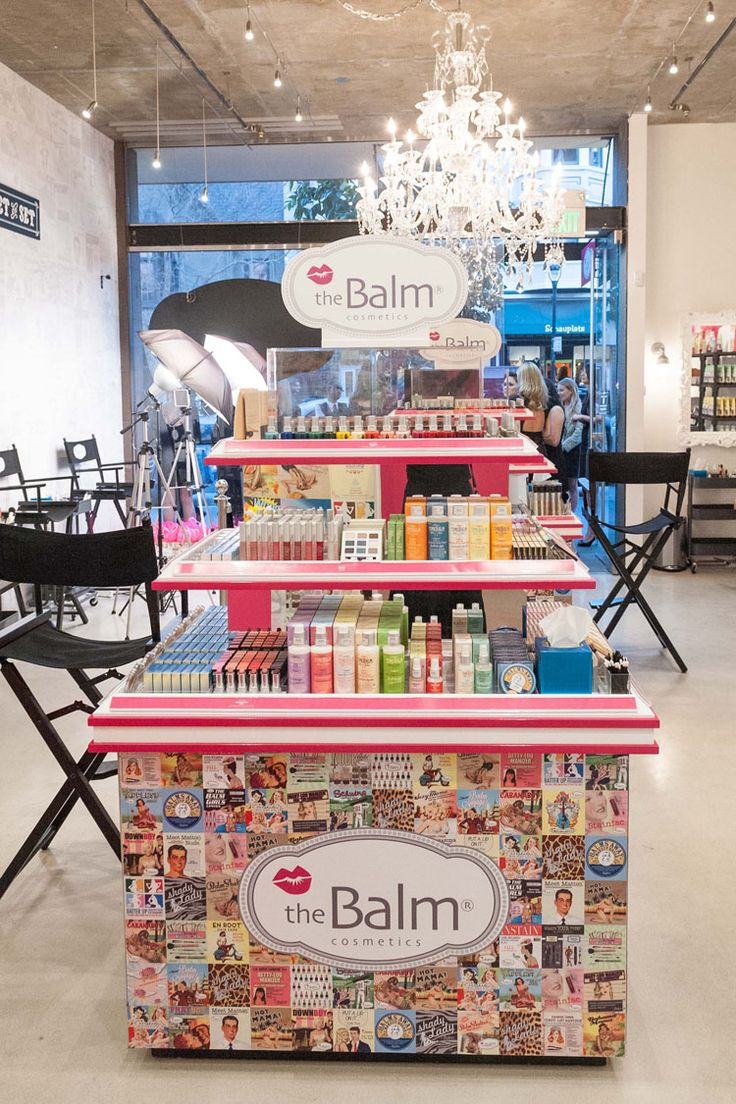 theBalm Cosmetics Flagship Store Opening