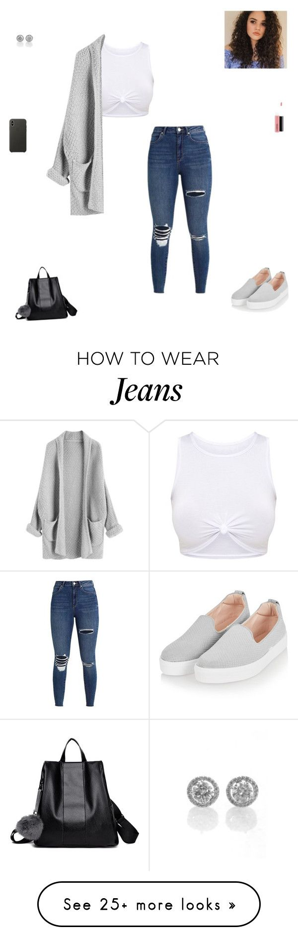 """winter break"" by synclairel on Polyvore featuring Topshop, MAC Cosmetics, Apple, Winter, cute, casual and ootd"