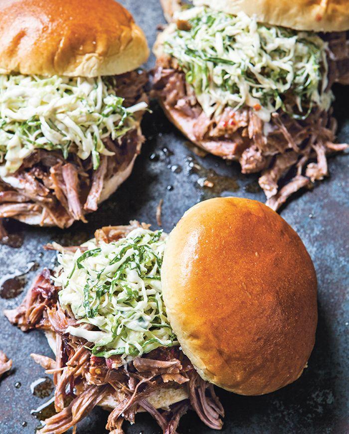 Carolina Pulled Pork Sandwiches