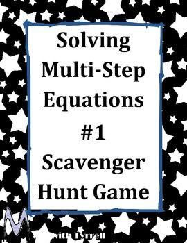 problem solving scavenger hunt
