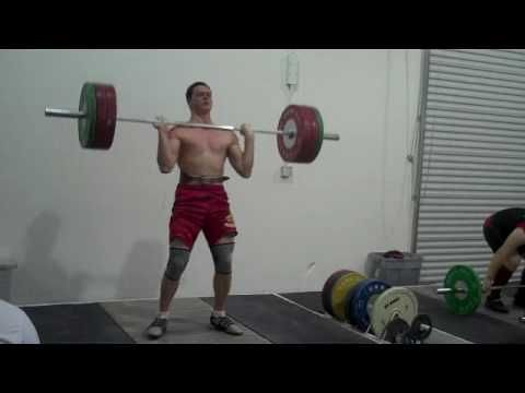 #oldschool footage of Ian Wilson Training at #CalStrength Olympic #Weightlifting #throwback