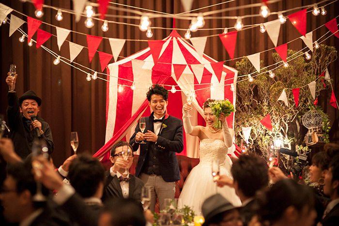 Stage / 髙砂 / crazy wedding / ウェディング / 結婚式 / オリジナルウェディング/ オーダーメイド結婚式/ サーカス / circus