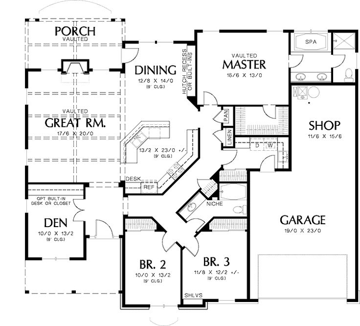 Image result for Best Open Floor Plans with basement