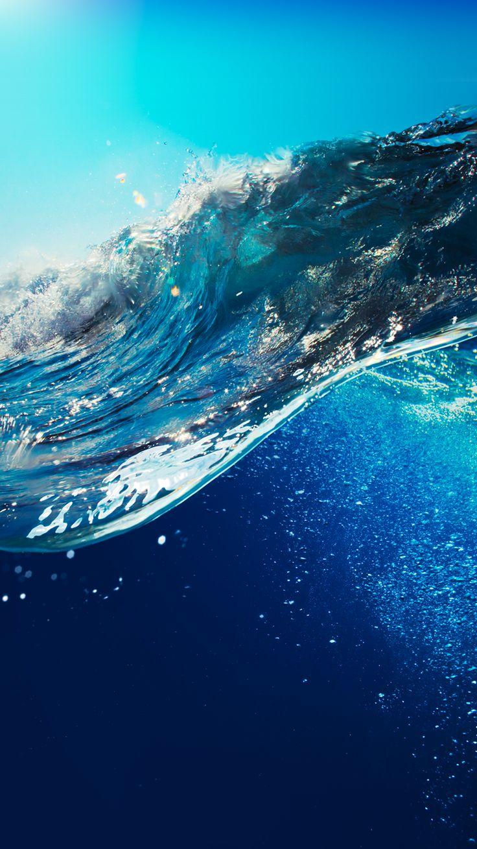 Wallpaper iphone art hd - Art Creative Sky Sea Water Blue Summer Hd Iphone 5 Wallpapersphone