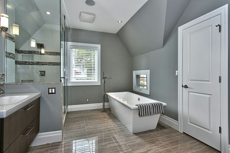Stand Alone Tub, Upgraded Faucets, Full-Sized Linen Closet