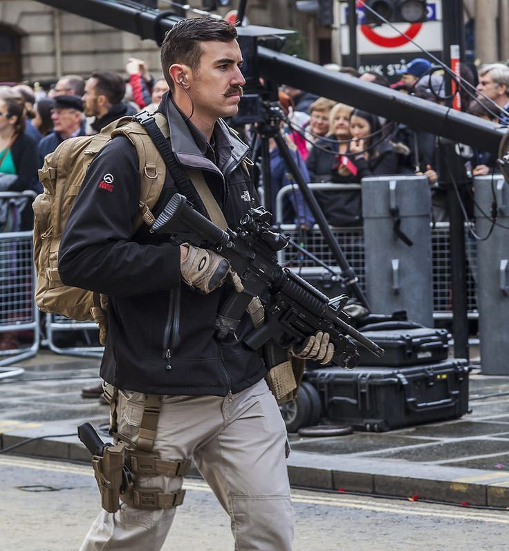 Army Reserve RMP Close Protection, Lord Mayor's Parade, November 2014