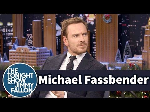 Michael Fassbender Threw a Paintball Party in a Western Village in Spain   #jimmy #fallon #video #funny #assassins #creed #almeria #saloon #paintball #clip #fassy #interview