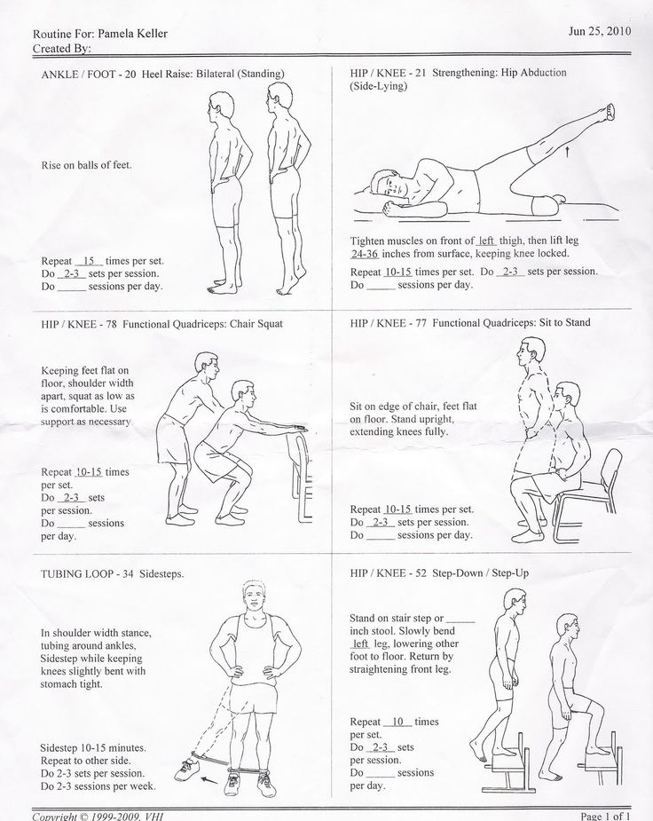 22 best physical therapy exercises images on pinterest physical physical therapy exercises ccuart Image collections