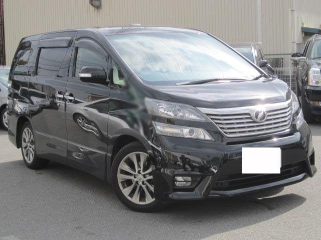 Toyota  vellfire 2.4Z Platinum Sele II Gold 2011  ANH20W   FOB Price JPY:3510000