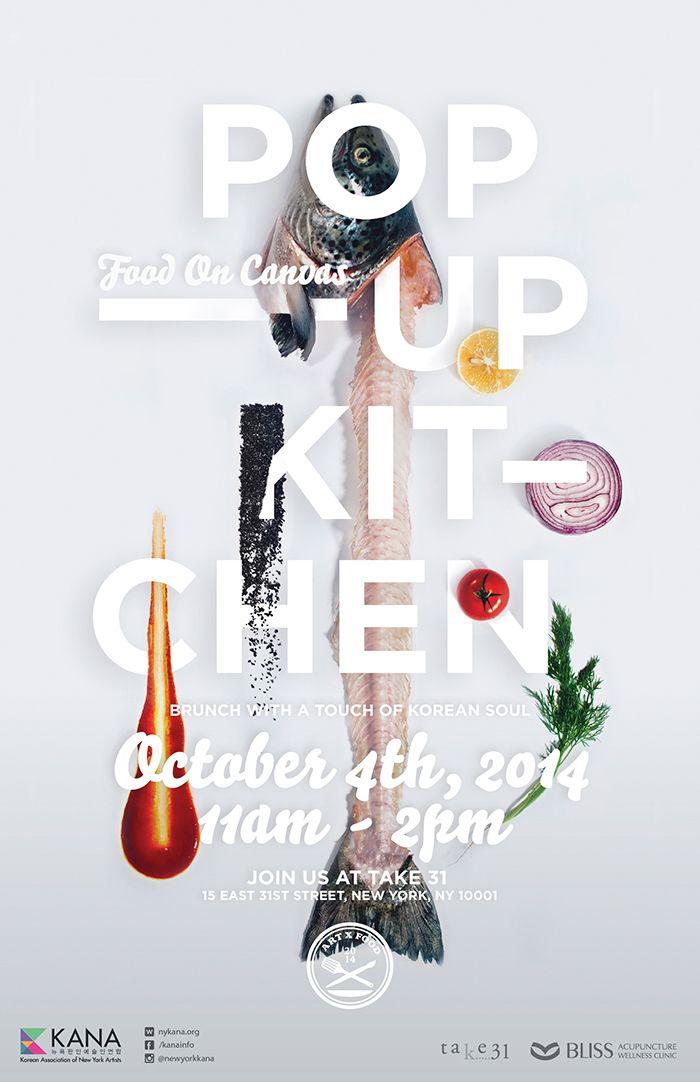 POP-UP KITCHEN: Food on Canvas on Behance