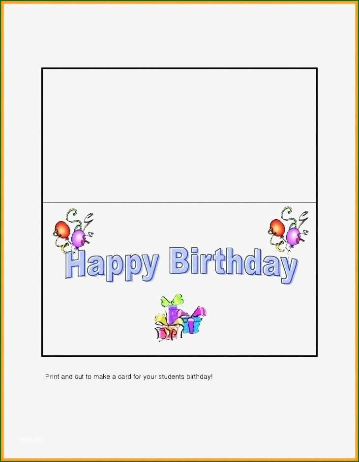 12 Wonderful Quarter Fold Greeting Card Template With Photos Birthday Cards For Niece Birthday Cards For Mom Birthday Card Online