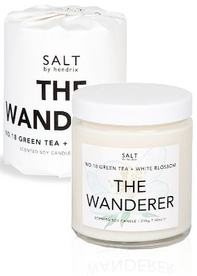 Salt by Hendrix The Wanderer Candle
