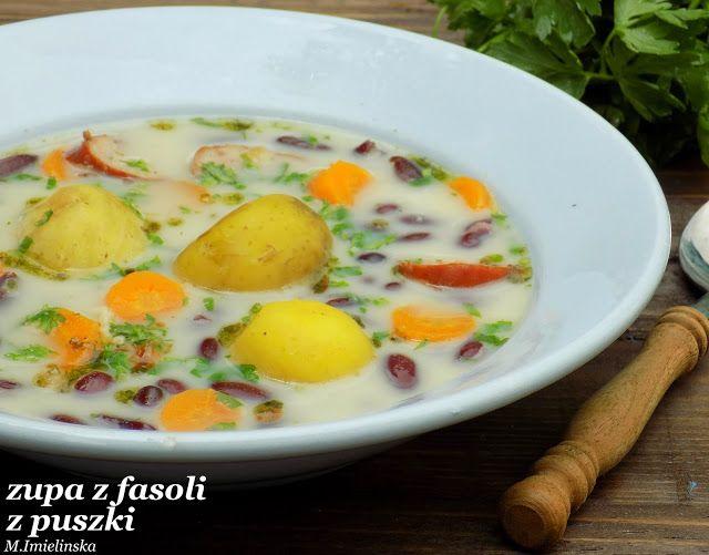 Domowa Cukierenka - Domowa Kuchnia: zupa z fasoli z puszki