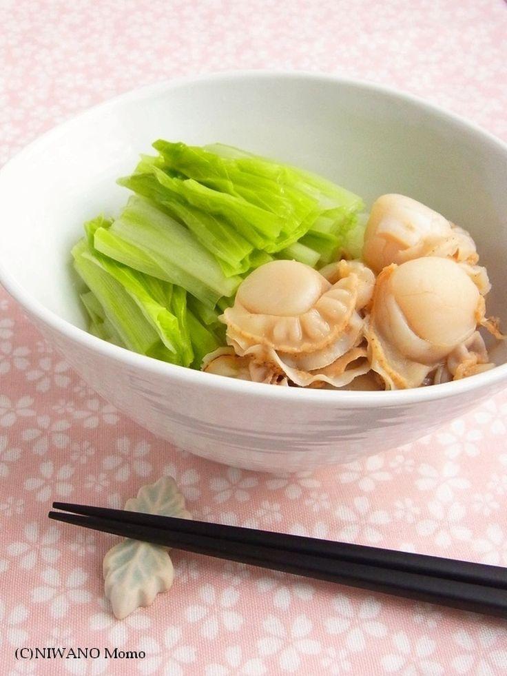 うるいと帆立の酢の物 by 庭乃桃 | レシピサイト「Nadia | ナディア」プロの料理を無料で検索