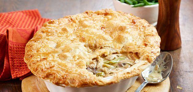 Chicken & Leek Pie Recipe  - Sainsbury's