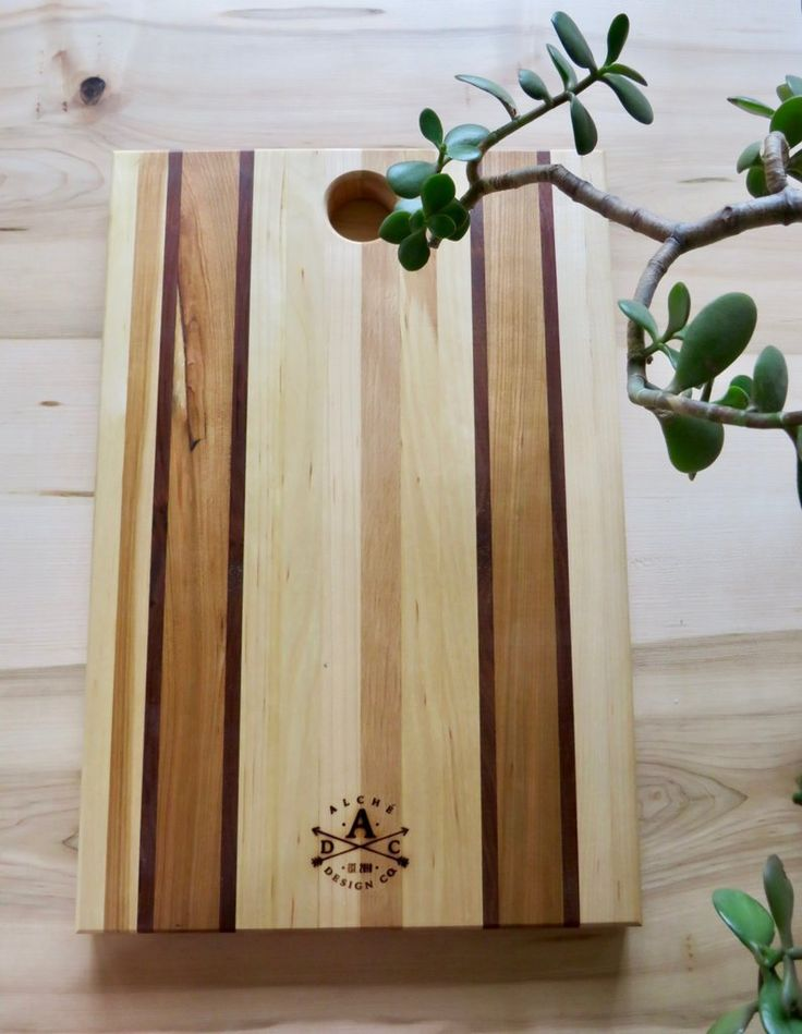 Striped Serving Boards