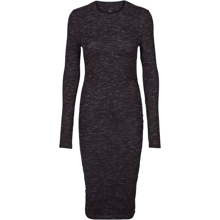 Jamilla dress Cool longsleeve dress in stretchy fabric. Black Swan Fashion SS17