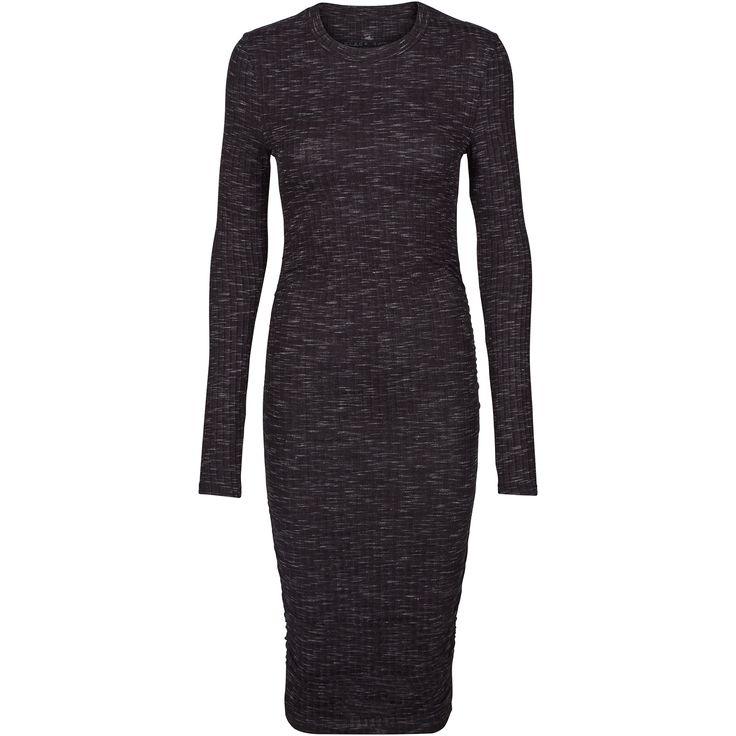 Jamilla dress Cool longsleeve dress in stretchy fabric. Black Swan Fashion SS17