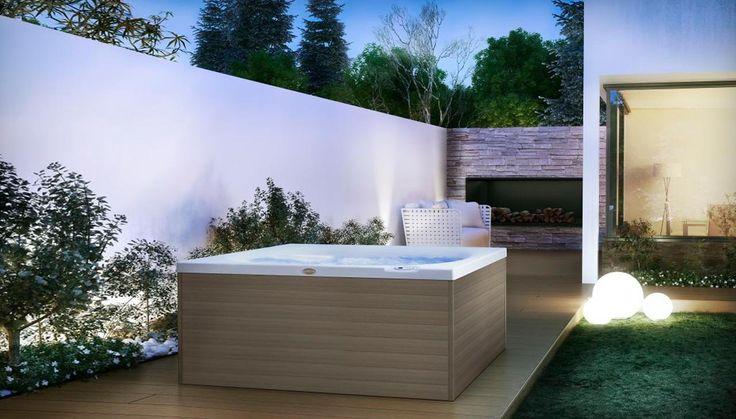 9 Best Built In Hot Tub Images On Pinterest Hot Tubs