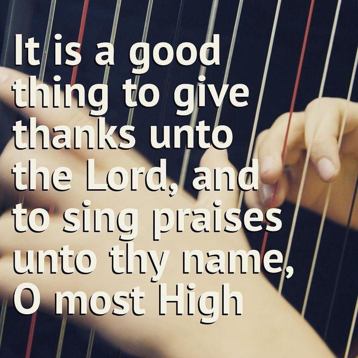 Psalm 92 #SundayPsalms #psalms #LetTheWorshippersArise #ChristIsLord #theHouseoftheLord #SundayMorning