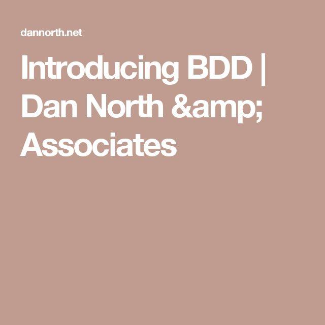 Introducing BDD | Dan North & Associates