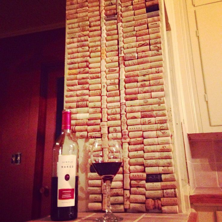 wine cork backsplash wine cork art pinterest