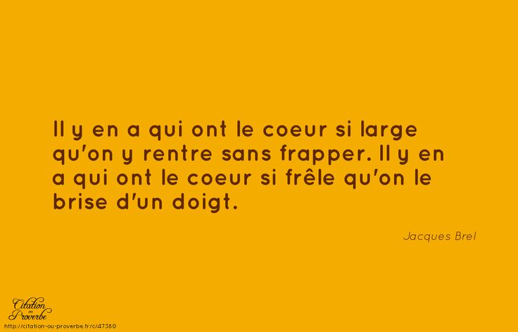 .Jacques Brel