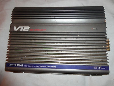 alpine car amplifier mrv f400s v12 dc straight 4 3 2 channel power alpine car amplifier mrv f400s v12 dc straight 4 3 2 channel power works audio for this and more me at dandeepop com cars and power