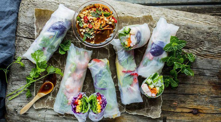 La deg inspirere av vietnamesisk gatemat