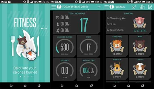 Download HTC Fun Fit health monitoring app for all Android devices