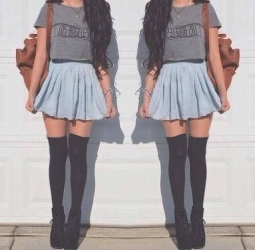 Hot or not? : D #fashion #stylisation #hot #skinny #socks
