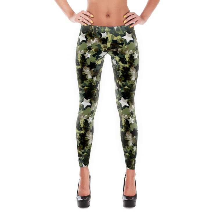 Stars Camo Leggings - Sun Leggings