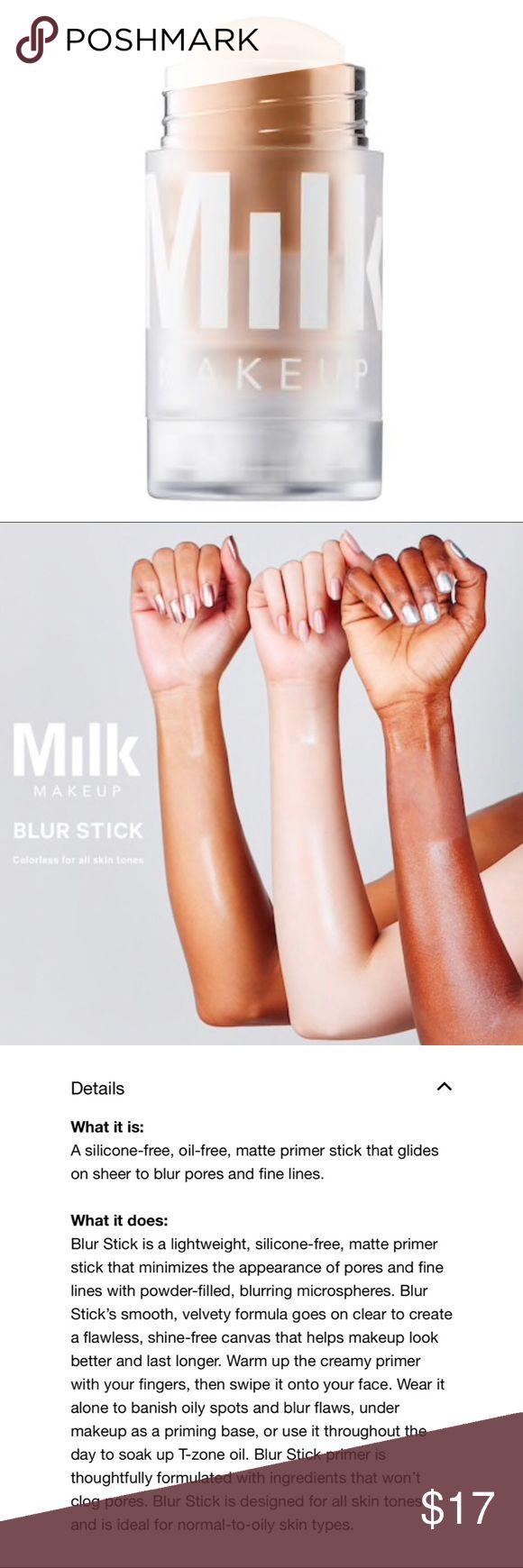 Milk Makeup Blur Stick Milk makeup blur stick, Milk