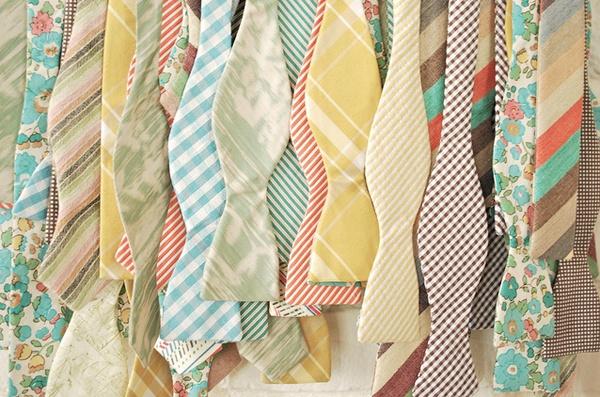 BOW TIES<3Groomsmen, Ideas, Pastel Wedding, Bows Ties, Pastel Cerveza Tennis, Style, Bow Ties, Colors, Bowties