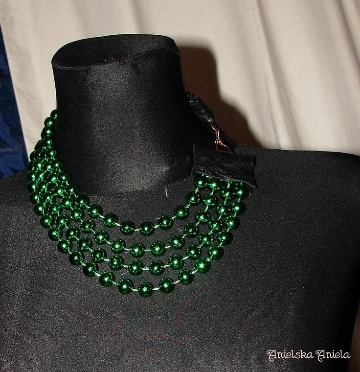 Diy..Tutorial..Valentino inspired necklace... - Anielska Aniela-DIY,Tutorial,szycie, przeróbki, inspiracje,biżuteria,vintage,retro